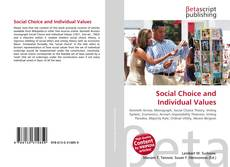 Copertina di Social Choice and Individual Values