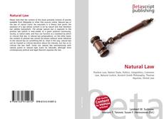 Bookcover of Natural Law