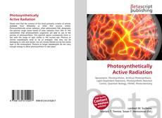 Обложка Photosynthetically Active Radiation