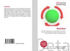 Bookcover of Rotation