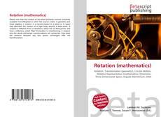 Обложка Rotation (mathematics)