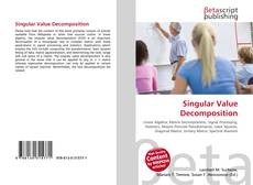 Capa do livro de Singular Value Decomposition