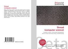 Bookcover of Thread (computer science)