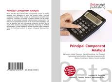 Bookcover of Principal Component Analysis