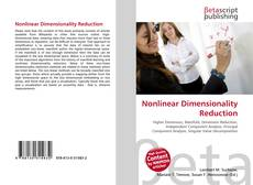 Buchcover von Nonlinear Dimensionality Reduction