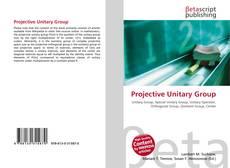 Projective Unitary Group kitap kapağı