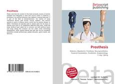 Bookcover of Prosthesis