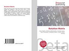 Bookcover of Rotation Matrix