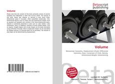 Bookcover of Volume