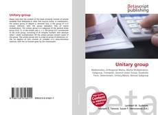 Unitary group kitap kapağı