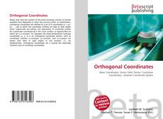 Обложка Orthogonal Coordinates