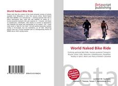Bookcover of World Naked Bike Ride