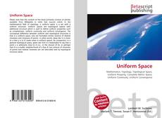 Buchcover von Uniform Space