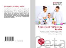 Capa do livro de Science and Technology Studies