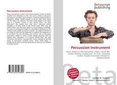 Buchcover von Percussion Instrument