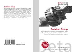 Bookcover of Rotation Group