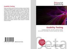 Couverture de Usability Testing