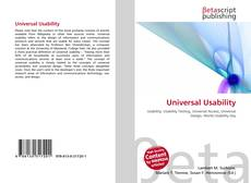 Bookcover of Universal Usability