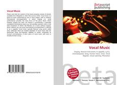 Capa do livro de Vocal Music