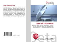Bookcover of Types of Restaurants