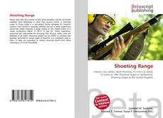 Bookcover of Shooting Range