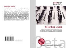 Bookcover of Recording Studio