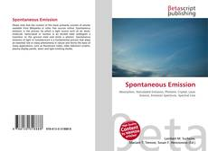 Bookcover of Spontaneous Emission