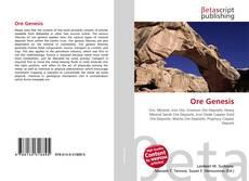 Capa do livro de Ore Genesis