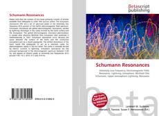 Обложка Schumann Resonances