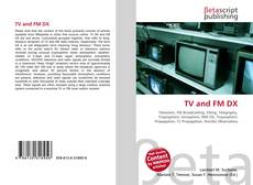 Bookcover of TV and FM DX