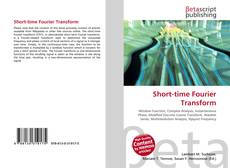 Bookcover of Short-time Fourier Transform