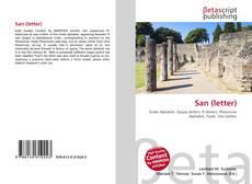 Borítókép a  San (letter) - hoz