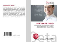 Bookcover of Perturbation Theory