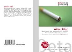 Bookcover of Wiener Filter