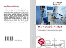 Bookcover of User-Generated Content
