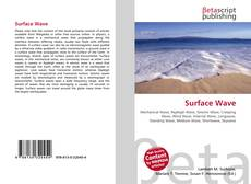 Bookcover of Surface Wave
