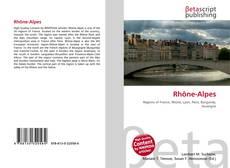 Bookcover of Rhône-Alpes