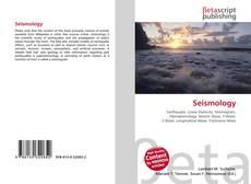 Copertina di Seismology