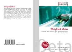 Bookcover of Weighted Mean