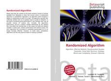 Bookcover of Randomized Algorithm
