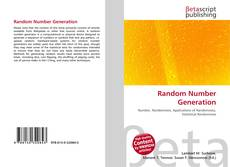 Bookcover of Random Number Generation