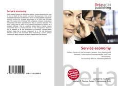 Portada del libro de Service economy