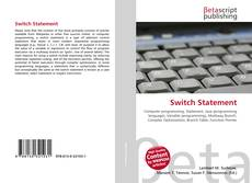 Buchcover von Switch Statement