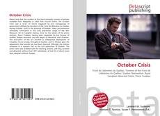 Bookcover of October Crisis
