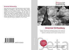 Bookcover of Oriental Orthodoxy