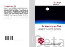 Protoplanetary Disk kitap kapağı