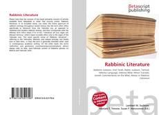 Bookcover of Rabbinic Literature