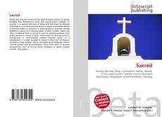 Sacred kitap kapağı