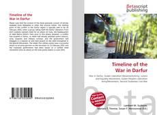 Обложка Timeline of the War in Darfur
