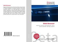 Bookcover of Web Browser